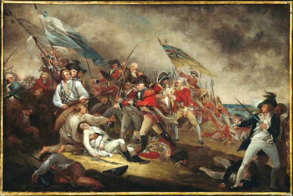 death of warren at bunker hill